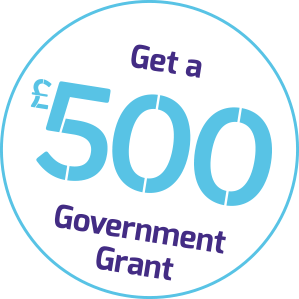 Get a £500 government grant